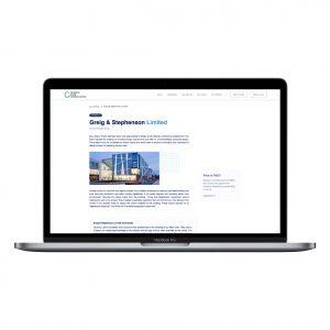 Beue Media Portfolio | QLC Website | Greig & Stephenson Limited